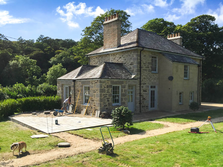 Garden and landscaping in Cornwall - Samuel Winn Design and Build